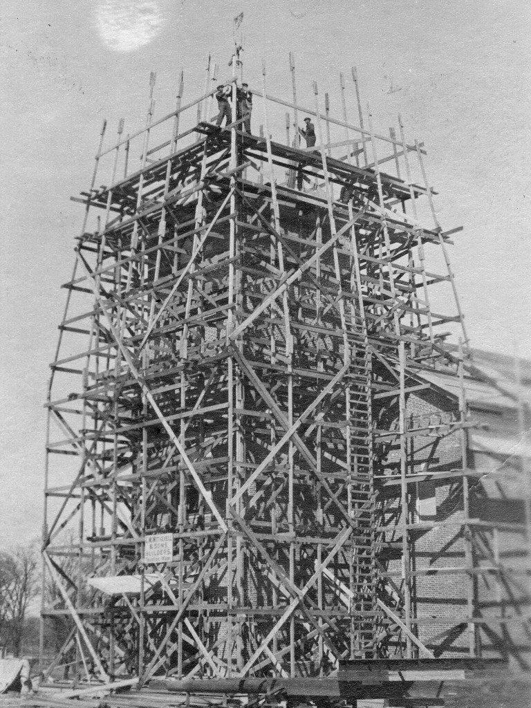 Chapel Under Construction