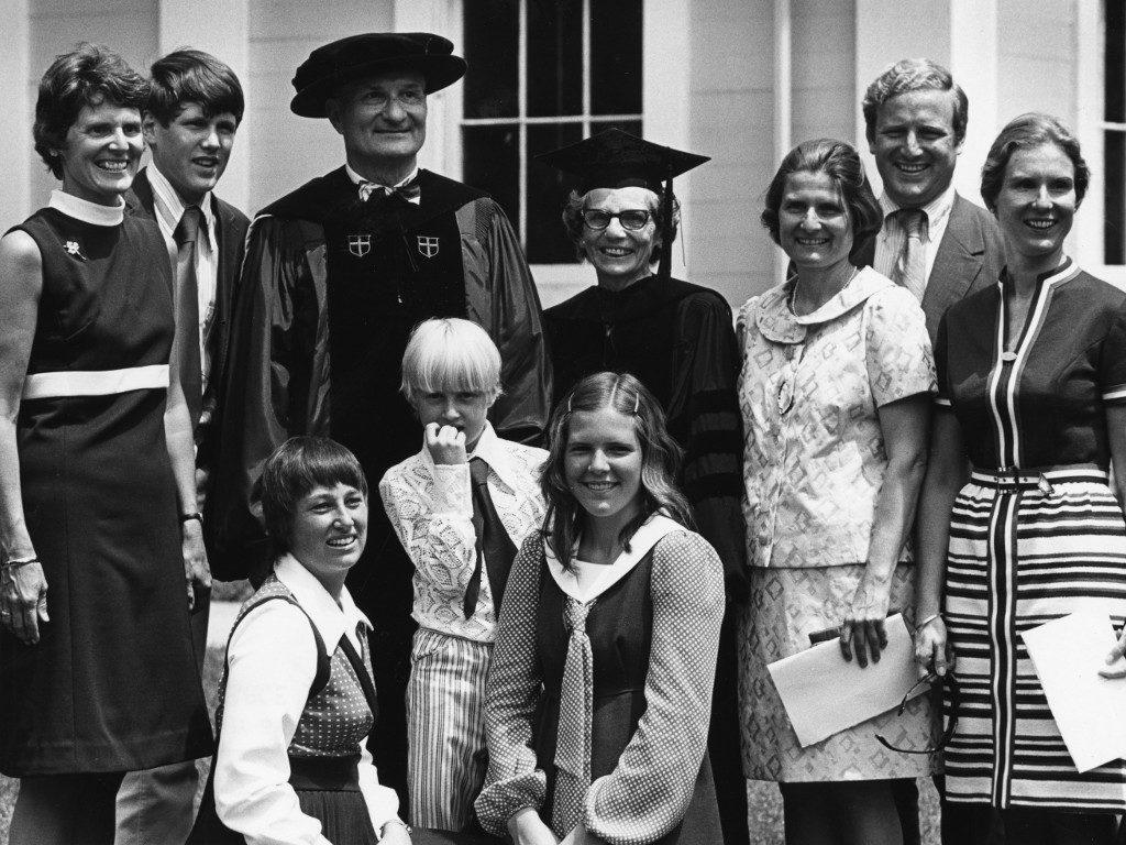 Brackett Clark and family