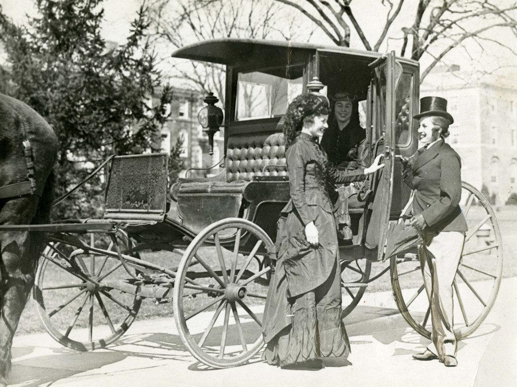 Eliza Wheaton's Carriage