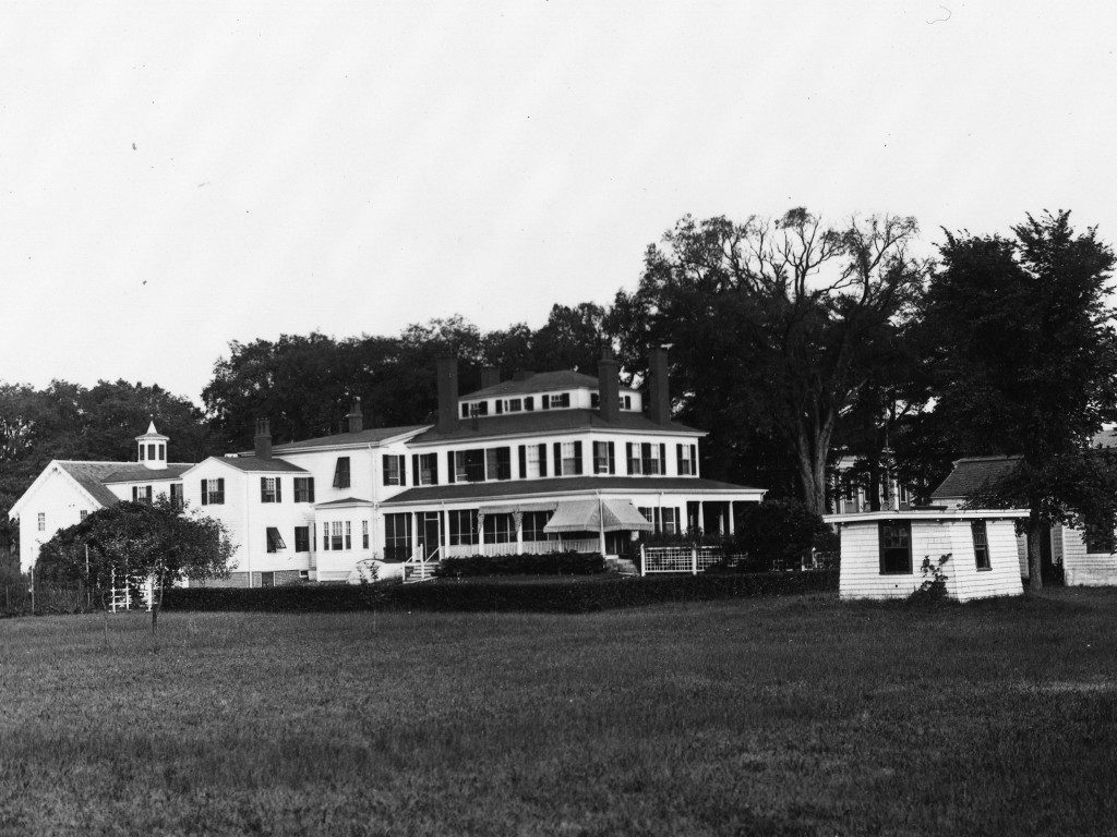 President's House from across the lawn