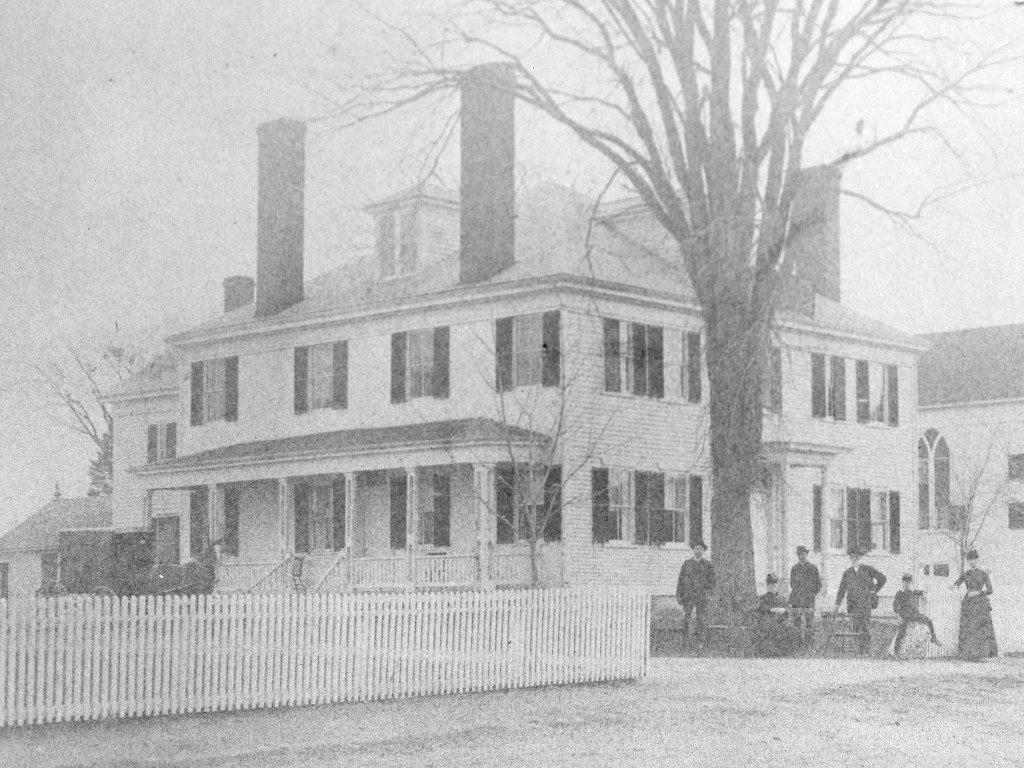Wheaton Inn in 1886