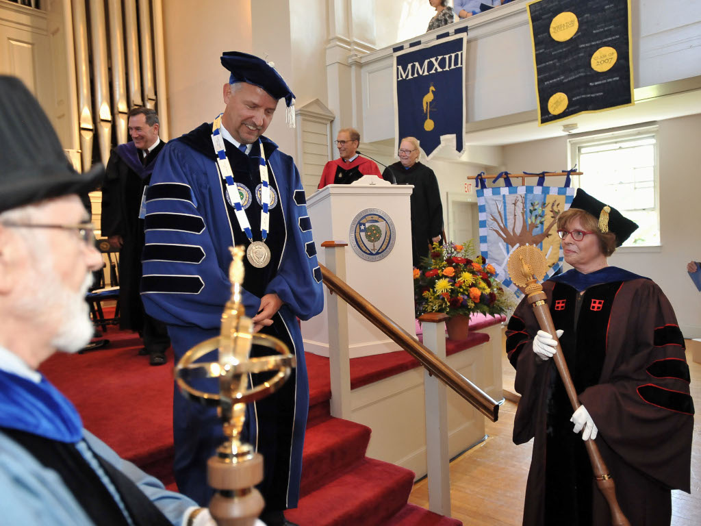 Inauguration of President Dennis M. Hanno
